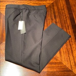 New woman's Rachel Zoe black straight leg pants.